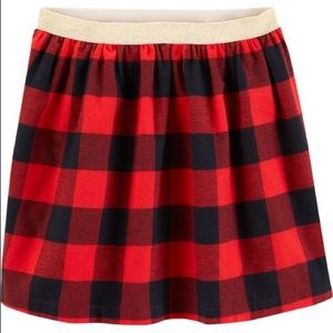 Carter's Buffalo Plaid Skirt